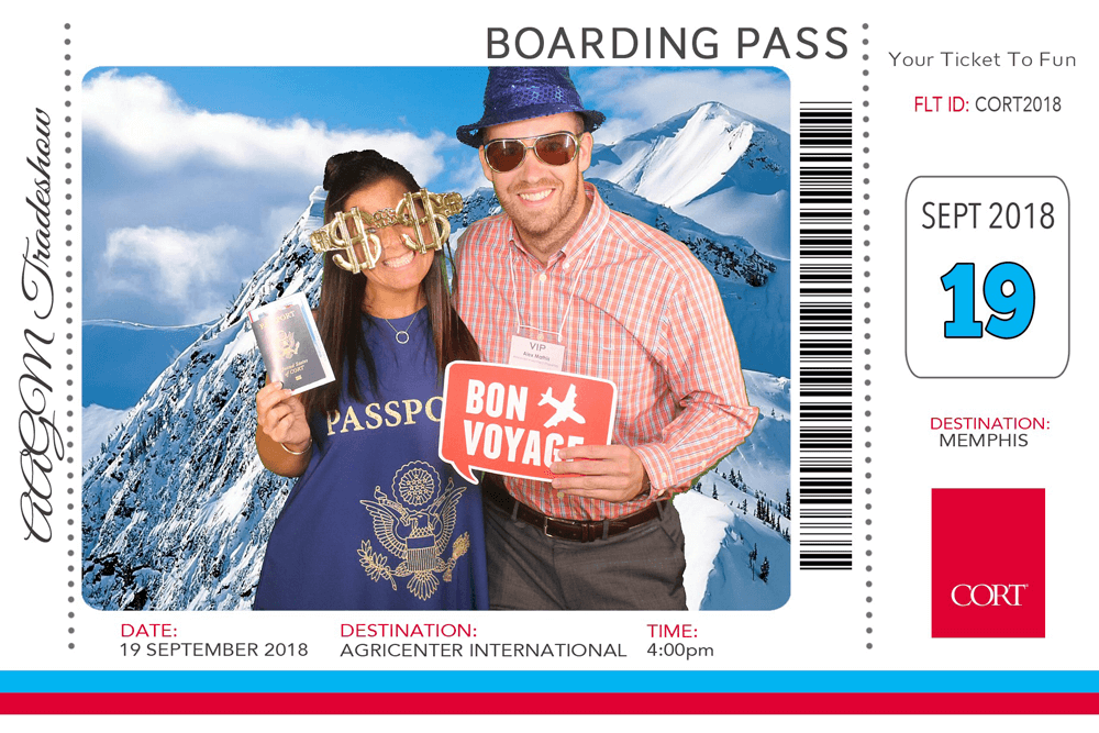 photo booth picture of green screen passport